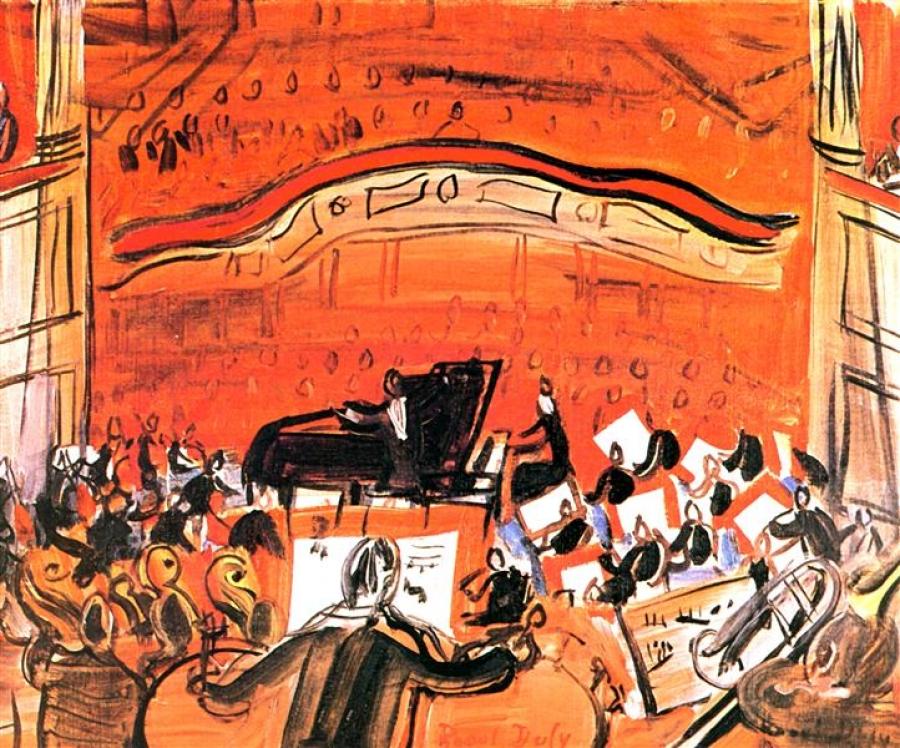Raoul Dufy, Le Concert Rouge (1946)