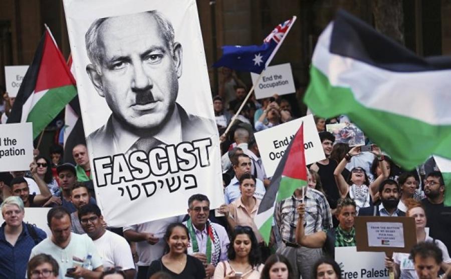 Έξω από την Ελλάδα ο σφαγέας του Παλαιστινιακού λαού, Νετανιάχου!