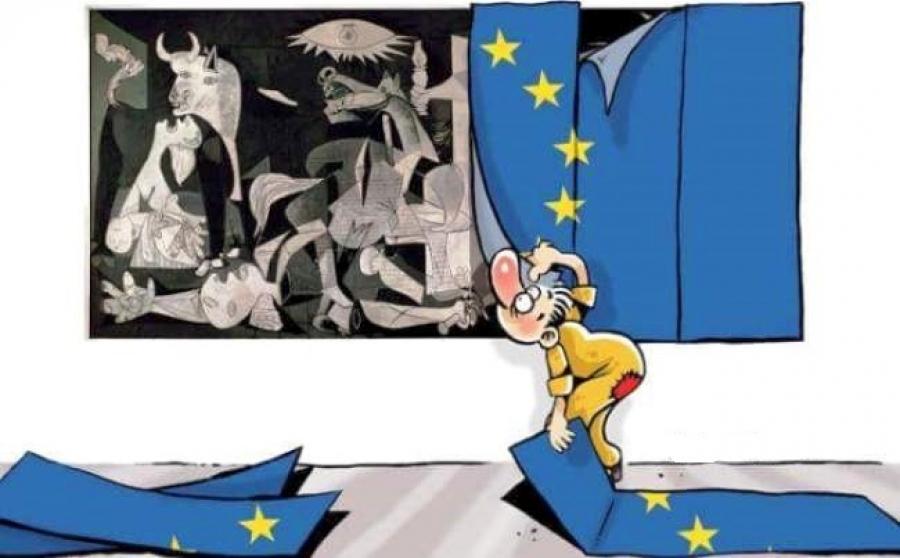 """Οι """"αξίες της Ευρώπης"""", του Θανάση Σκαμνάκη"""