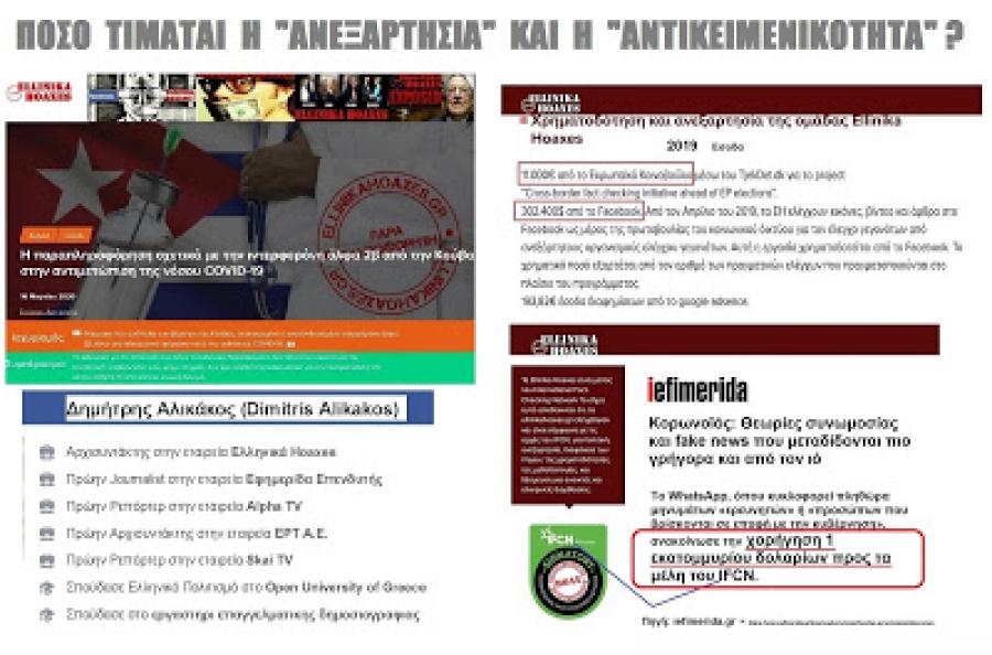 Καταγγελία της λογοκρισίας του facebook και της ομάδας «Ελληνικά Hoaxes»