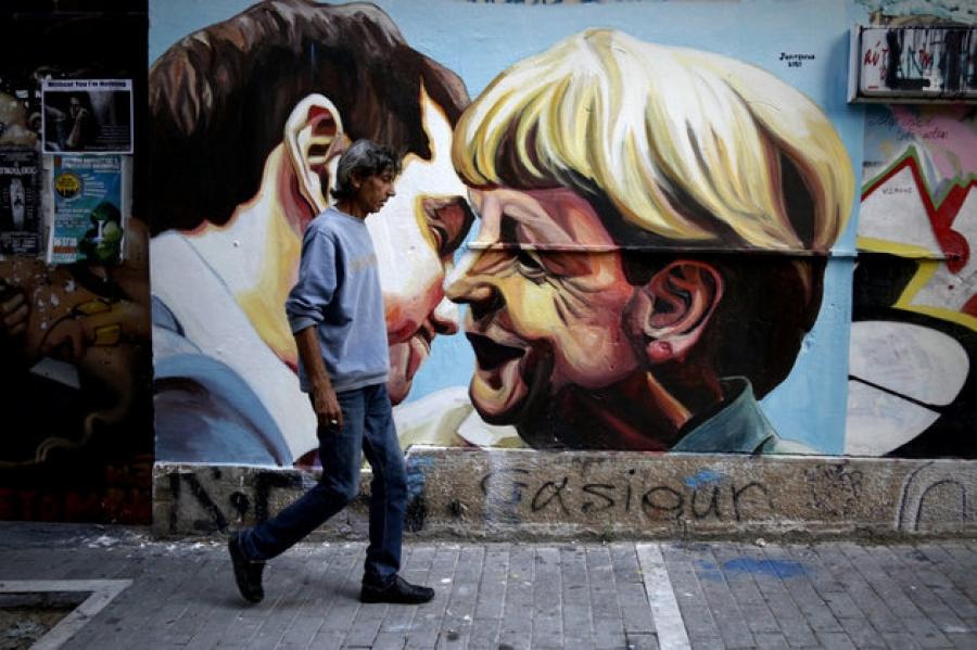 Από το «go back Mrs. Merkel» στο …«welcome Angela», του Σταμάτη Κυριάκη