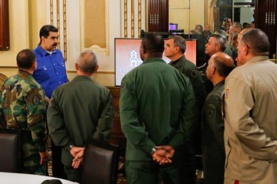 Γιατί συμπαραστεκόμαστε στη Βενεζουέλα; του Δημήτρη Καλτσώνη